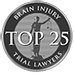 National Brain Injury Trial Lawyers – Top 25